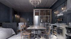 Um estúdio pequeno em Moscou (Foto: Divulgação)