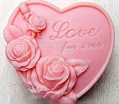 Love forever Silicone soap mold. https://www.facebook.com/DreamSoapbyThanya