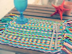 Handmade individual table covers!  Costumize yours...
