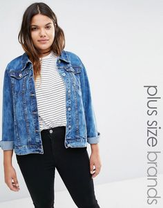 Missguided+Plus+Denim+Jacket