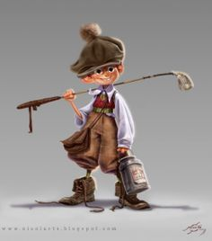 Cartoon Kid Character #character #kid