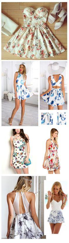 Summer Floral Dresses, Girls' Popular Choice