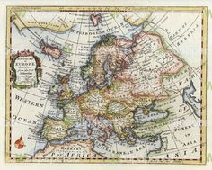 Historical map of Europe