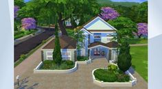 Check out this lot in The Sims 4 Gallery! - Casa 09 by #KerleyLima