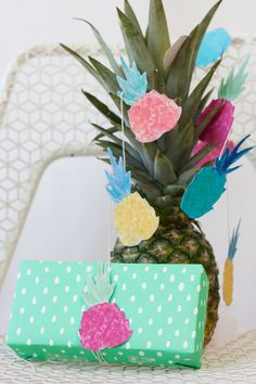 Free Pineapple Party Printables