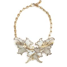 Rental Lulu Frost Nightshade Necklace ($65) ❤ liked on Polyvore featuring jewelry, necklaces, antique gold jewelry, grey necklace, antique gold chain necklace, chain statement necklace ve chain jewelry
