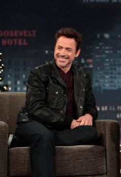 Robert Downey Jr. - love this picture... love that smile... love this man!