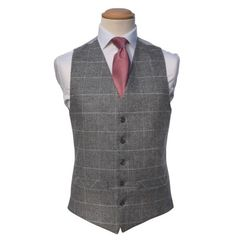 Tweed Silver / Ivory (235)