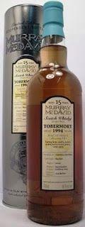 Whisky merchants: Tobermory Scotch Whisky 15 year old 1994, 46% 70cl Murray McDavid