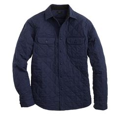 Quilted shirt-jacket  https://www.jcrew.com/mens_category/shirts/ShirtJackets/PRDOVR~06888/06888.jsp