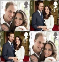 Royal Mail to issue royal wedding stamps