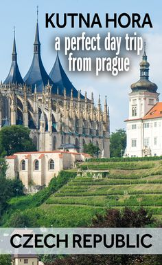 You can easily travel to Kutna Hora as a day trip from Prague. It's one of the most interesting things to see in the Czech Republic. Kutna Hora is a Czech World Heritage Site and has two important churches, as well as other grand buildings.