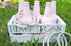 Backyard Wedding Reception Games Ring Toss 54 New Ideas Do It Yourself Ring, Do It Yourself Fashion, Trendy Wedding, Diy Wedding, Wedding Backyard, Wedding Summer, Wedding Ideas, Garden Wedding, Party Wedding
