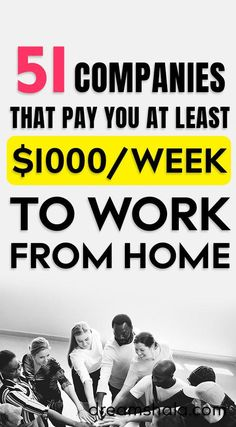 51 Legit Work From Home Companies That Pay Weekly - Online Writing Jobs at home - earn money from home - Cash From Home, Earn Money From Home, Earn Money Online, Way To Make Money, Money Fast, Work From Home Companies, Work From Home Opportunities, Business Opportunities, Legit Work From Home