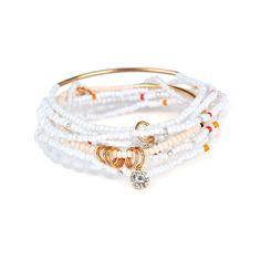 Women's Bohemian Bracelet Rhinestone Beads Multilayer Bracelet