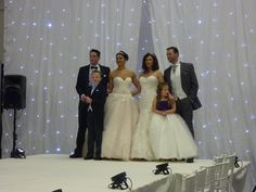 Great catwalk show today at the great northern wedding Show #GNWS2015