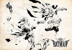 Western Batman vs. The Joker - Jennyson Allan Rosero