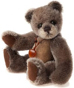 Charlie Bears Bag Buddies Key-ring Denim