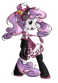 Sweetie belle! You're a vocaloid!!!