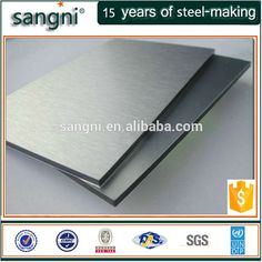 5x10 stainless steel sheet in stock sus 301 No.1 finish
