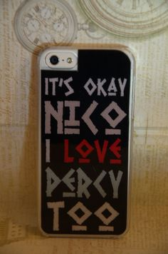 Iphone 5 Case Designer Case Nico Di Angelo by TheElliottsCloset, $9.99---This is great!!