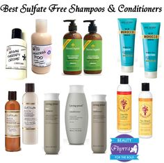 Best Sulfate Free Shampoos and Conditioners. Good to know! I am currently using Wen and love it!