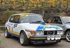 Ex-Per Eklund: 1982 Saab 99 Rally Build
