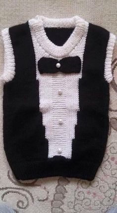 Baby Boy Knitting Patterns, Baby Cardigan Knitting Pattern, Knitting For Kids, Knitting Designs, Baby Patterns, Crochet For Boys, Crochet Baby, Knit Crochet, Knitted Baby Clothes