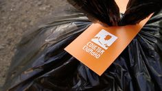 Social design used to build community awareness around garbage-collecting professionals. The Collector, Design