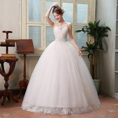 2016 New Fashion Princess Korean Style Wedding Dresses Luxury Floor Length  Wedding Dress Free Shippin Colored Wedding Dresses Designer Evening Gowns  From ... 95c58b90a73f