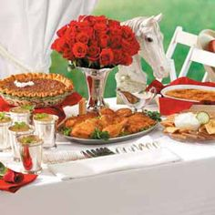 Kentucky Derby Party Plan  Host a Kentucky Derby viewing party with these  race-ready recipes and table-setting tips.