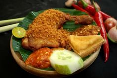 Ayam Penyet Recipe (Chicken)