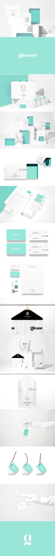 Qleaners is a Unique Laundry Service With a Luxurious Feel — The Dieline | Packaging & Branding Design & Innovation News