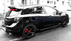 Blacked out Mazdaspeed 3