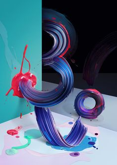 Atypical: Painted Typography by Pawel Nolbert