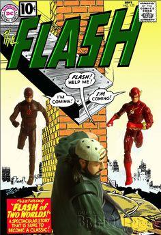 Galeria dos Brinquedos: Flash - The Flash - DC Collectibles