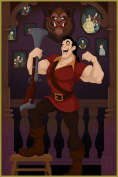 Si les méchants de Disney avaient gagné - Gaston