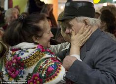 Retired Seniors Love at Kiev Subway