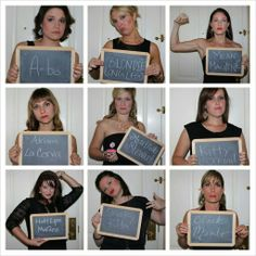 Bachelorette Party Mugshots @Rachel O'Haver how cute is this!