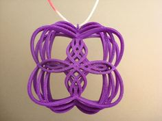 Pendant and earring in one. Design by melkon. #necklace #jewelry #3DPrinting