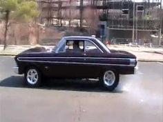 1964 ford falcon burn out http://youtu.be/nWtxseGqT7o Smoke Em If ya got the power! This little Falcon does.