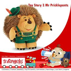 Perfect your kid acting skills with Mr Pricklepants from Toy Story 3  Visit: www.angelsfamilystop.com  #MakeupTip #AngelsFamilyShop #Cosmetics #FashionJewellery #GiftArticles #HandBags #JustBorn #Lingerie #ToysNGames