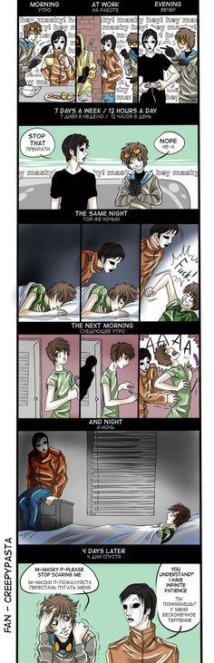 Fan Masky -hey Masky?- by Ashiva-K-I.deviantart.com on @DeviantArt
