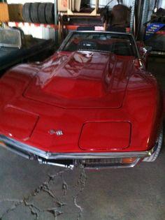 1972 Convertible Corvette