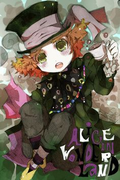 Chibi Hatter looks so adorable!<3