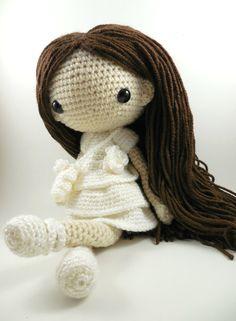 Maria Amigurumi Doll Crochet Pattern PDF por CarmenRent en Etsy