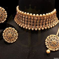 Gold Necklace Set Designs In 30 Grams like Jewellery Online Hyderabad so Jewellery Exchange New York between Kalyan Jewellers Gold Necklace Set Designs With Price Indian Bridal Jewelry Sets, Indian Jewelry Earrings, Fancy Jewellery, Jewelry Design Earrings, Silver Jewellery Indian, Stylish Jewelry, Bridal Jewellery, Pakistani Jewelry, Bollywood Jewelry