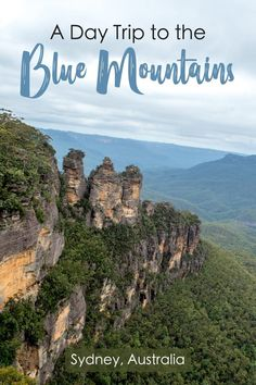 The Blue Mountains National Park is a perfect Day Trip from Sydney, Australia. Just a 2 hour train ride from downtown, the Blue Mountains are an amazing escape out into nature bluemountains Sydney australia daytrip 827395762775099752 Perth, Brisbane, Melbourne, Australia Travel Guide, Visit Australia, Sydney Australia, Victoria Australia, Western Australia, Australia Trip