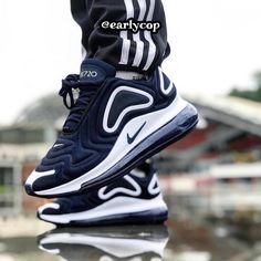 The Nike Air Max 720 Obsidian looks to be getting a release soon . Upcoming Sneaker Releases, Nike Air Max, Air Max Sneakers, Sneakers Nike, Streetwear, Fresh Shoes, Sports Shoes, Sneakers Fashion, Ootd Fashion