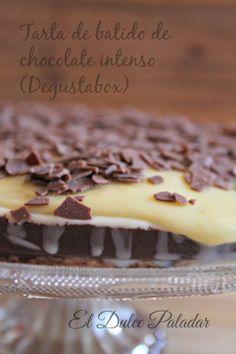 El dulce paladar Tarta de batido de chocolate
